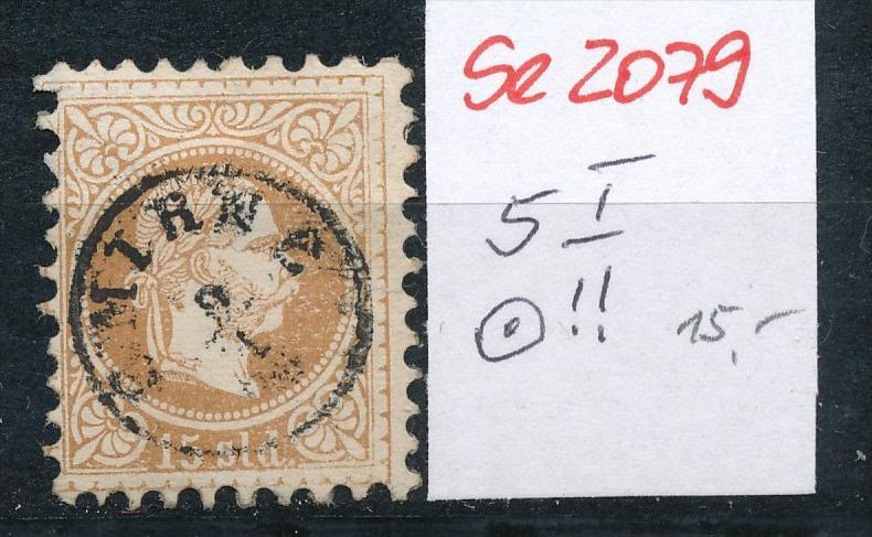 Österreich-Levante Nr . 5 I     ( se2079   ) siehe Bild  !