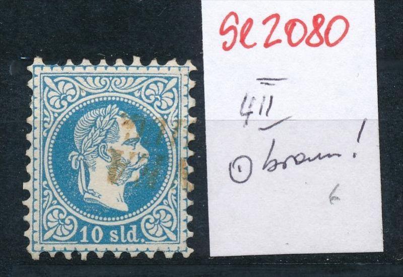Österreich-Levante Nr . 4 II   ( se2080   ) siehe Bild  !