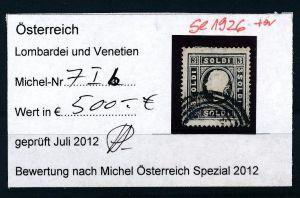 Österreich-Lombardei  Nr . 7 I b    o     ( se1926  ) siehe Bild  !