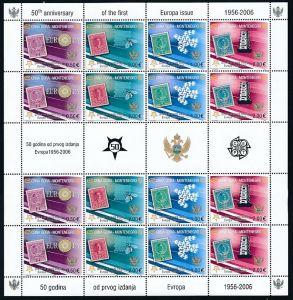Montenegro  Cept Kleinbogen  2006  **/MNH (bg2234 ) discount  -siehe Bild !