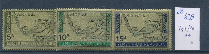 Jemen  Nr. 719-21   **   ( ee639 ) siehe Bild !