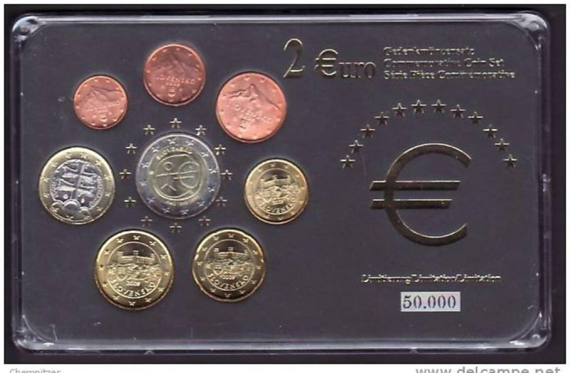 (x470) Euro Sondersatz limitiert - Slowenien WWF 2009  in Plastikbox