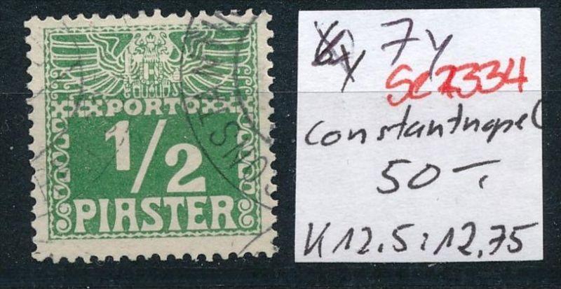 Österreich -Levante Nr. P 7y  o  ( se2334 ) siehe Bild !