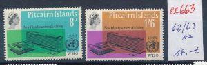 Pictarien Inseln   Nr. 62-63   **   ( ee663 ) siehe Bild !