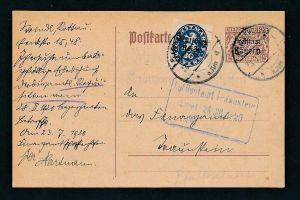 Bayern /DR   Karte...  ( g9613 ) siehe Bild !