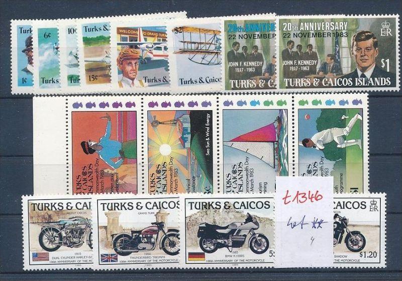 Turks -Lot ** Ausgaben-nichts gerechnet   ( t1346 ) siehe Bild !