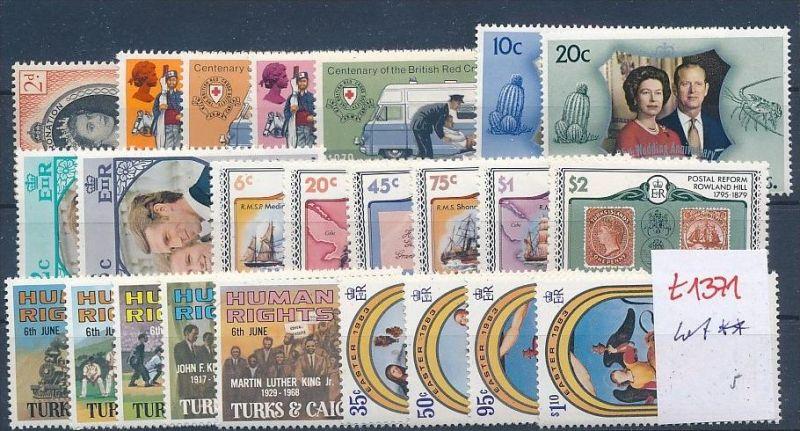 Turks  -Lot ** Ausgaben-nichts gerechnet   ( t1371 ) siehe Bild !