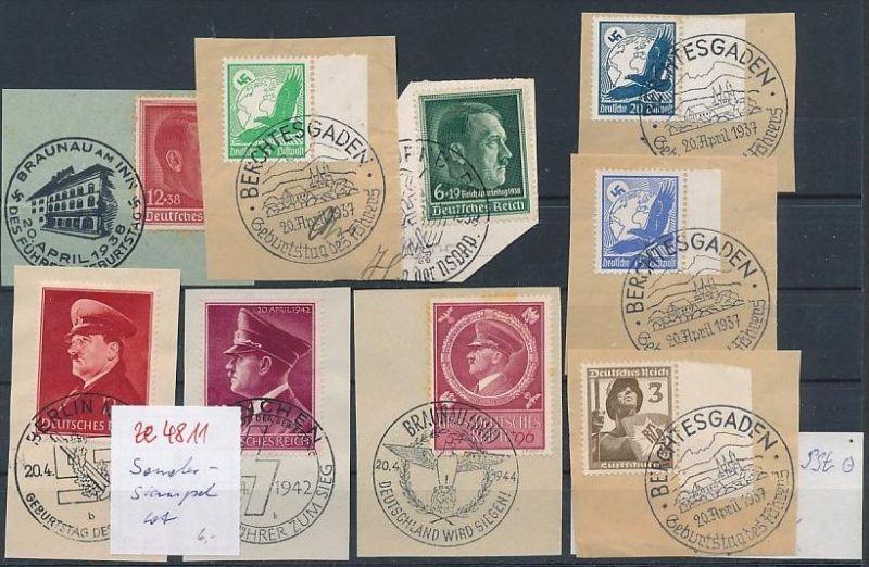 D.-Reich Stempel lot   (ze4811 ) siehe Bild !