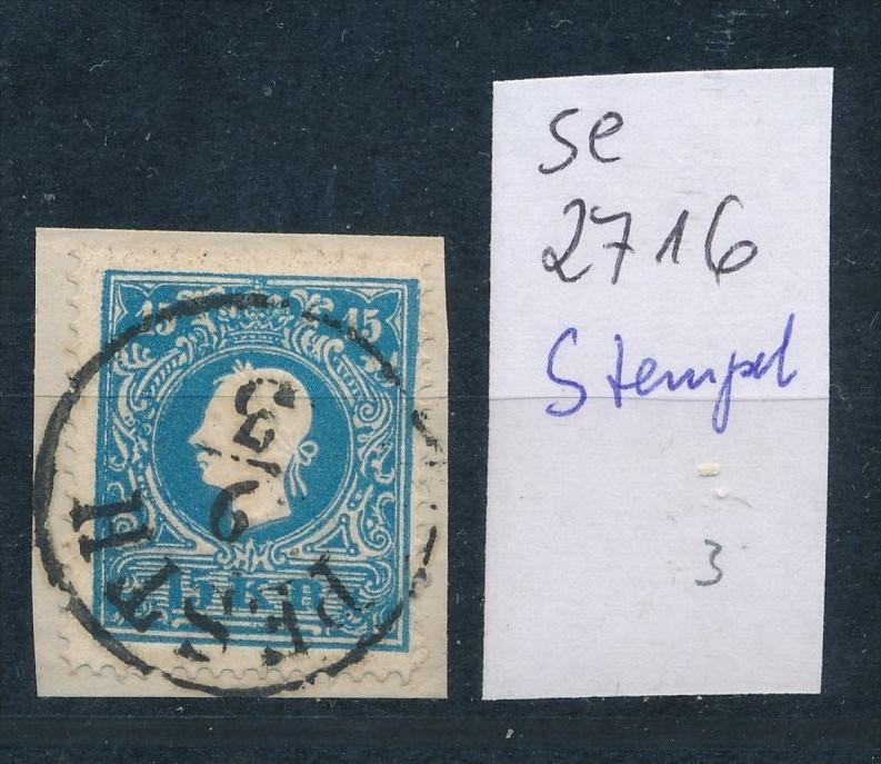 Österreich-Klassik - netter Stempel..... (se2716   ) siehe scan