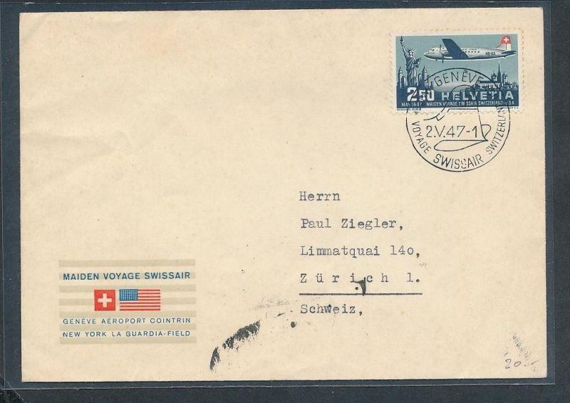 Schweiz -  Luftpost netter Beleg   (t2335   ) siehe scan