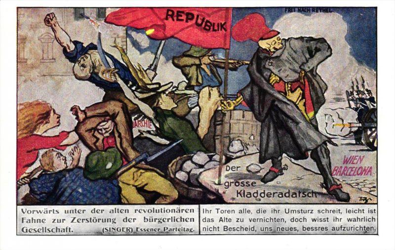 Revolution    -alte Karte  ( k7868   ) siehe scan