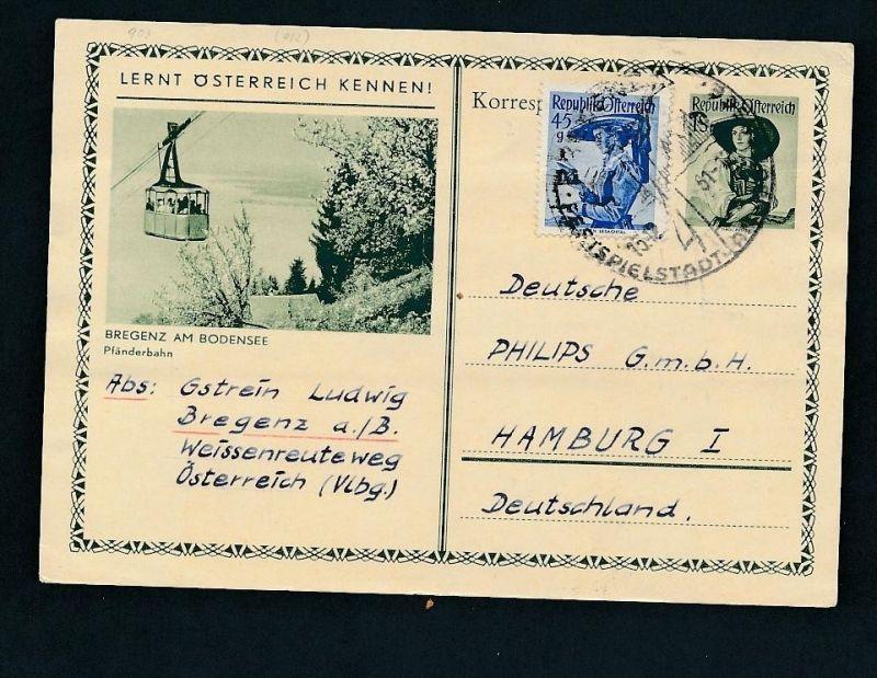 Österreich -Bild Ganzsache   (t2501    ) siehe Bild !