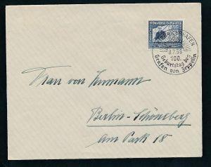 D.-Reich Sonder-Stempel Beleg    (t2429    ) siehe Bild !