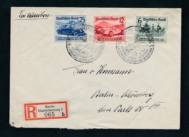 D.-Reich Sonder-Stempel Beleg    (t2432    ) siehe Bild !