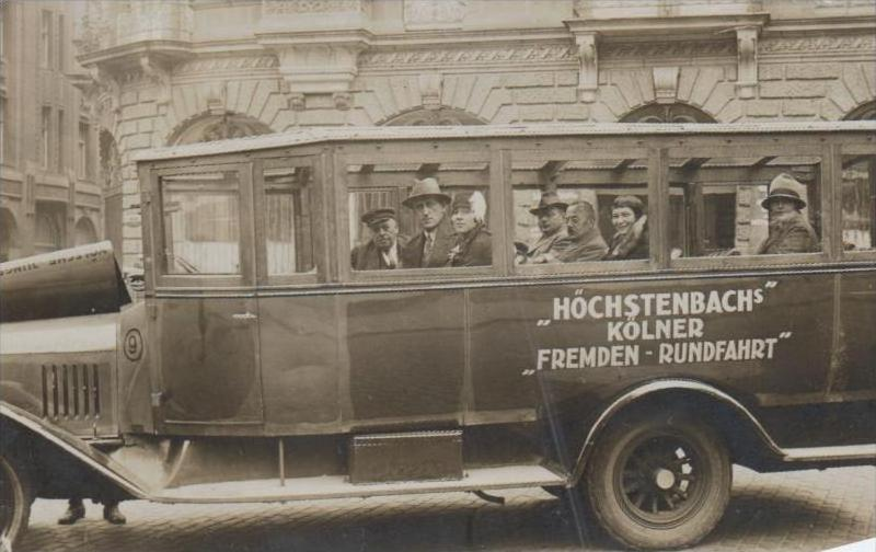 Bus Rundfahrt Köln   -alte Karte   (  k 7050 ) siehe Foto