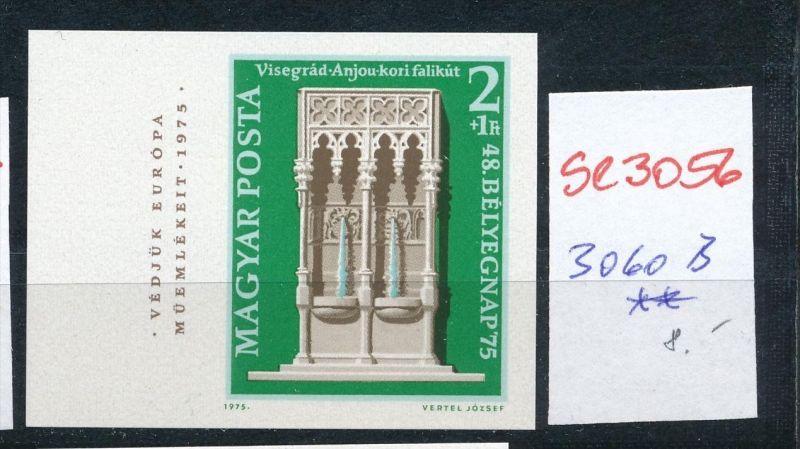 Ungarn Nr.  3060  B   **  ( se3056  ) siehe scan