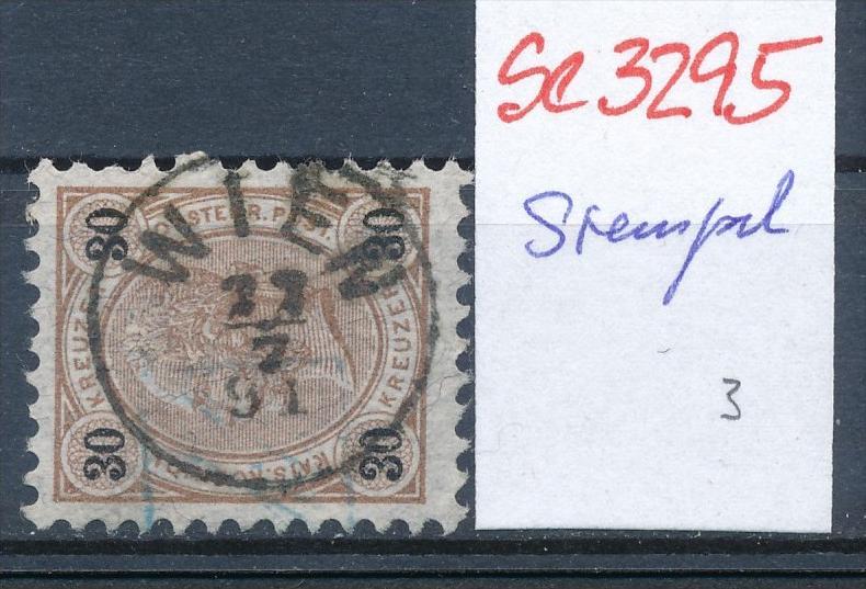 Österreich-Klassik -Stempel Schönheit   ( se3295  ) siehe scan