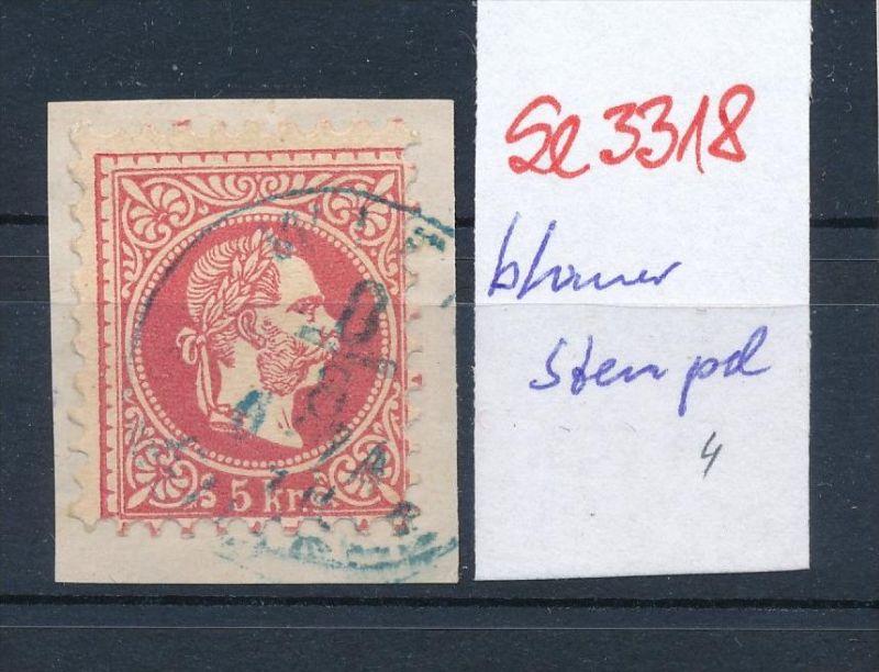 Österreich-Klassik -Stempel Schönheit   ( se3318  ) siehe scan