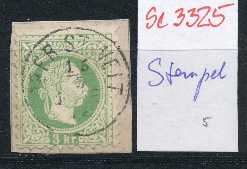 Österreich-Klassik -Stempel Schönheit   ( se3325 ) siehe scan