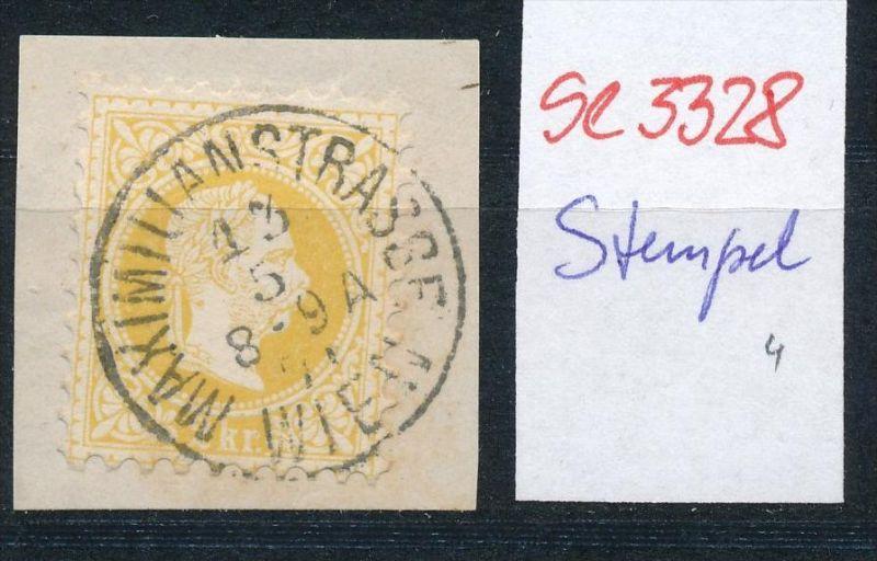 Österreich-Klassik -Stempel Schönheit   ( se3328 ) siehe scan
