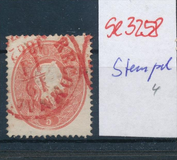Österreich-Klassik - netter Stempel   ( se3258 ) siehe scan