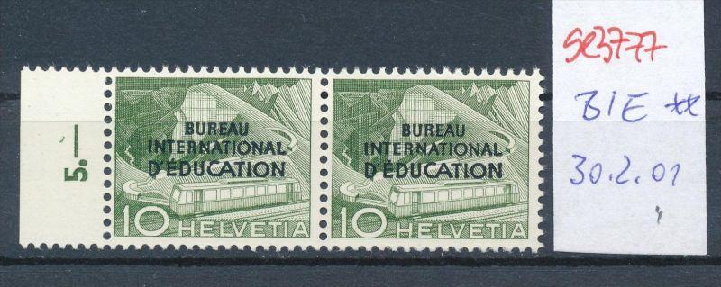 Schweiz Nr.  30.2.01 -Zumstein  ** ( se3777  ) siehe Bild !