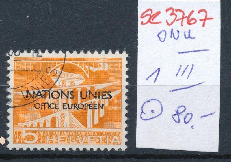 Schweiz Nr. ONU  1 III  o  ( se3767 ) siehe scan