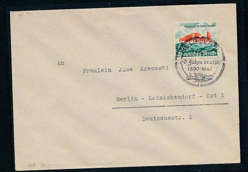 D.-Reich - Stempel  Beleg   FDC ( t3034  ) siehe Foto