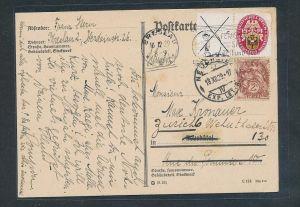 D.Reich nete Karte Ausland    (t3854 ) siehe Bild !