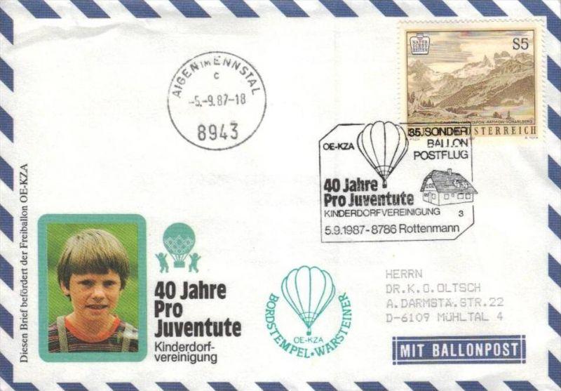 Ballon- Post netter Sammler-Beleg  ( br1309  ) siehe scan