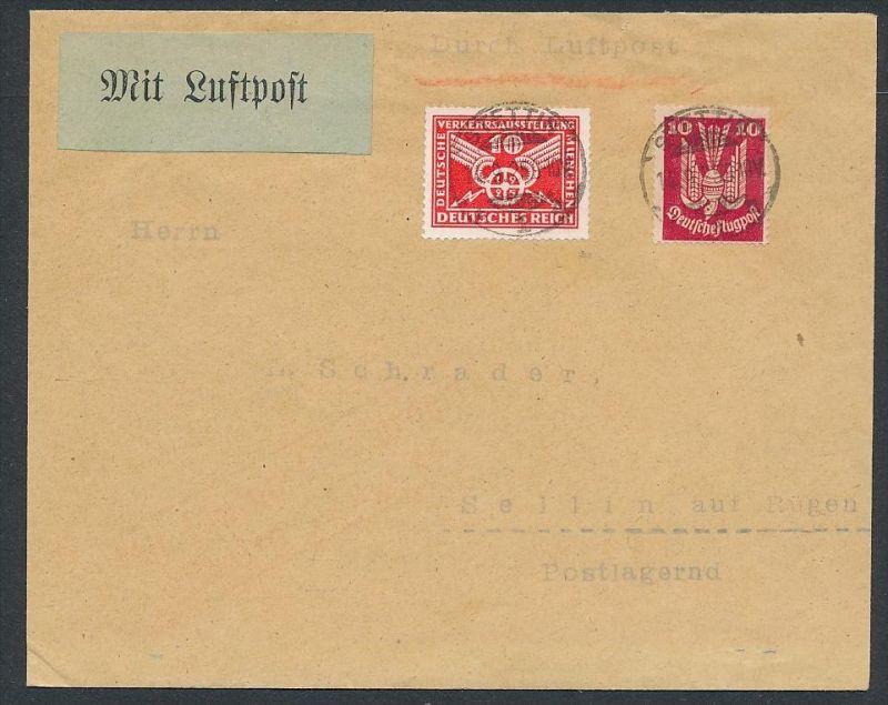 D.-Reich -Luftpost -  netter Beleg     ( ze5804  ) siehe scan