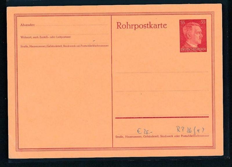 DR.-Ganzsache -Rohrpost .. ( t3698 ) siehe scan 0