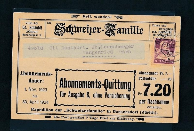 Schweiz   alter-netter Beleg.......( t3866 ) siehe scan