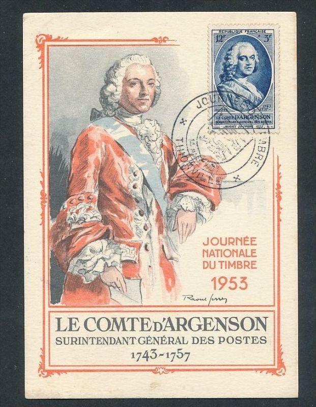 Frankreich Sammler Karte  - netter  Beleg  .( t4029 ) siehe scan