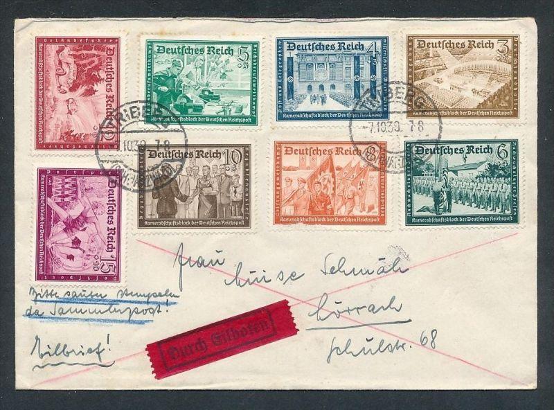 Sammler Brief    - netter  Beleg  .( t3992 ) siehe scan