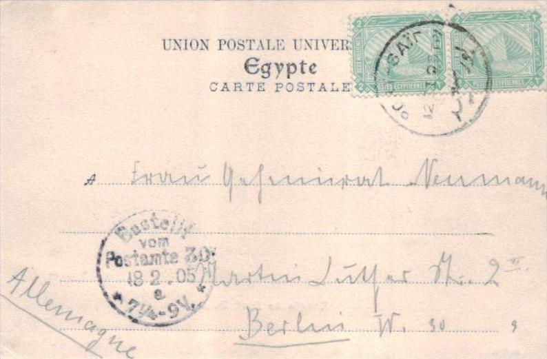 Ägypten...   -alte Karte ....( k9284 ) siehe scan 1