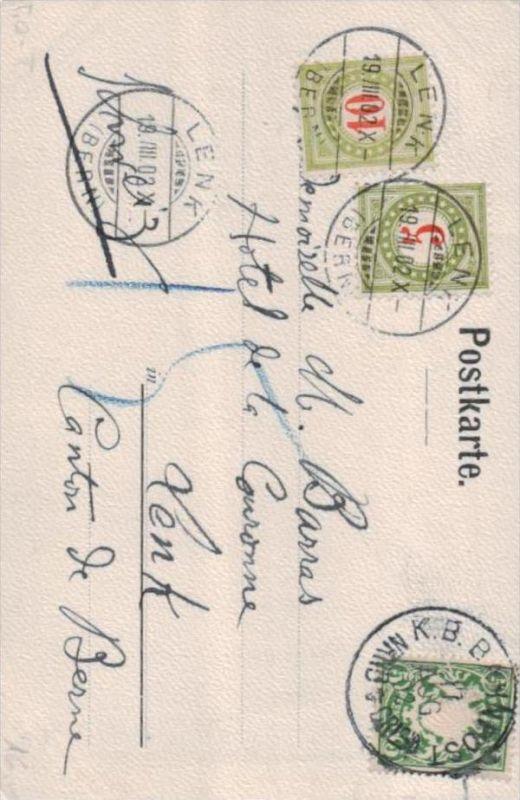 Bayern Karte Nachporto Schweiz ....( k9220 ) siehe scan 0