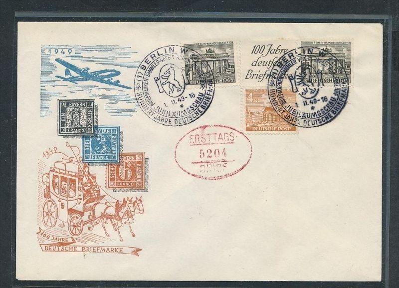 Berlin Sammler Brief  -netter Beleg .( t3802 ) siehe scan
