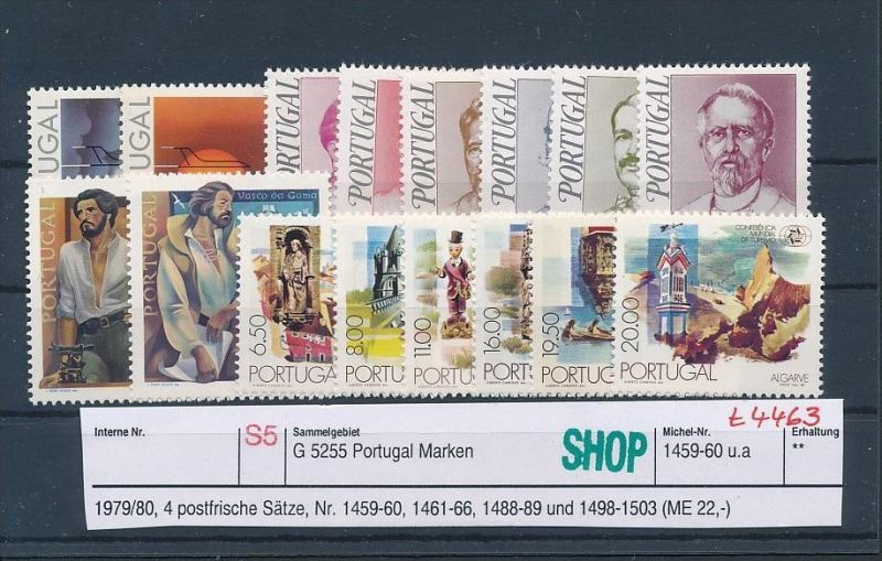 Portugal  Lot  ** ( t4463 ) siehe scan