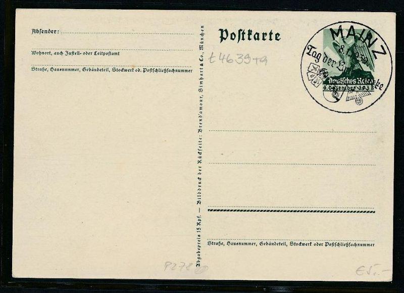 D.-Reich Ganzsache ............( t4639 ) siehe scan 1
