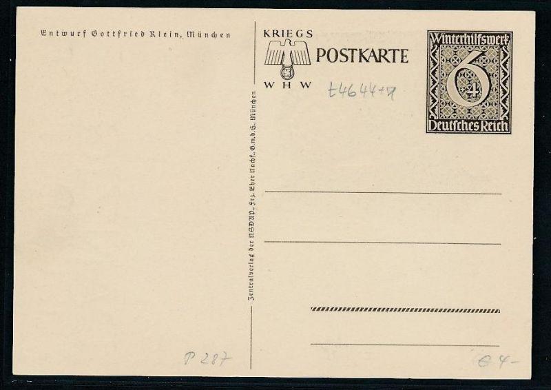 D.-Reich Ganzsache ............( t4644 ) siehe scan 1
