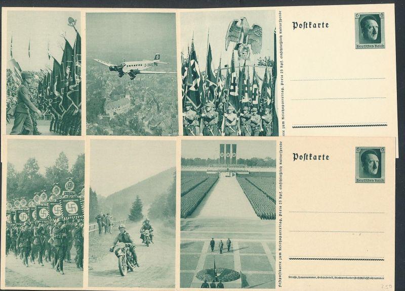 D.-Reich  Lot 6 Ganzsachen..( t4540  ) siehe scan