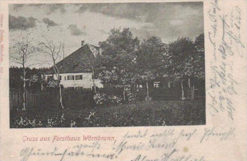 Wörnbrunn alte Karte  .. ( k9390 ) siehe scan 0