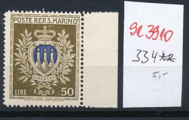 San Marino Nr. 334  **... ( se3910  ) siehe scan 0