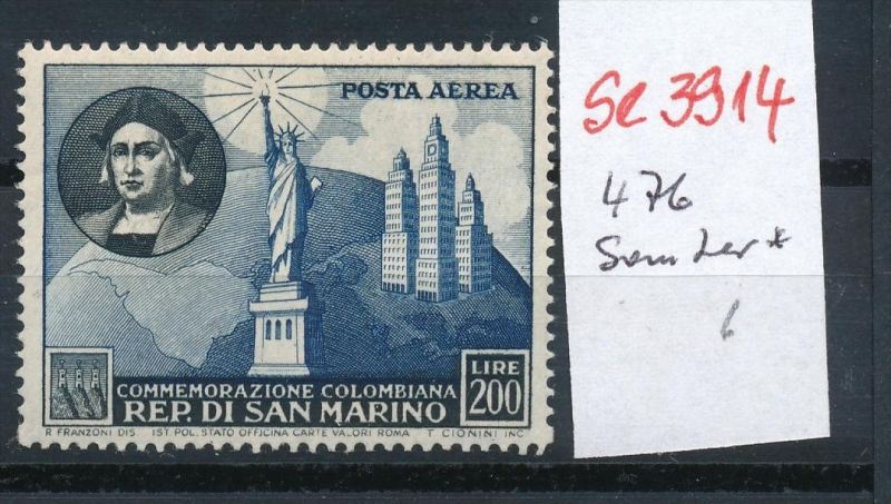 San Marino Nr. 476 *... ( se3914  ) siehe scan 0