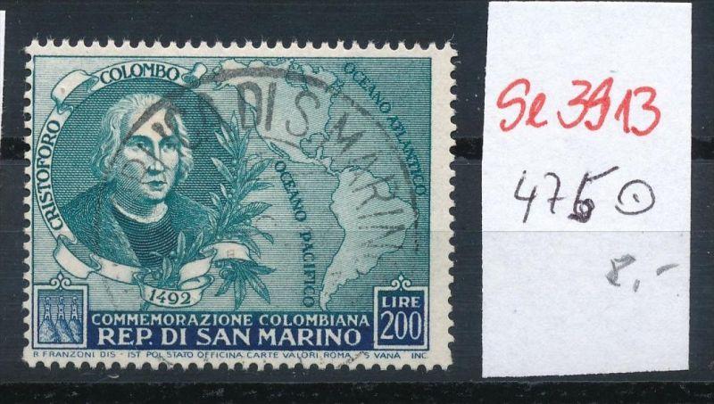 San Marino Nr. 475  o.. ( se3913  ) siehe scan 0