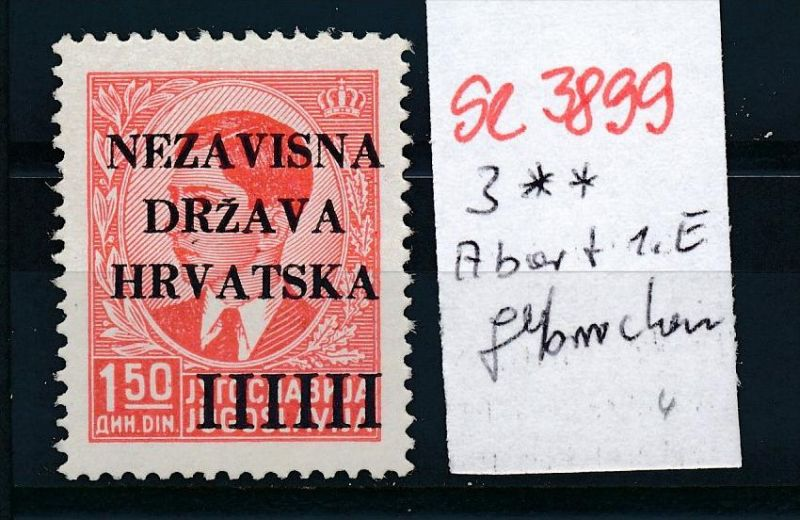Kroatien Nr. 3  **. ( se3899  ) siehe scan 0