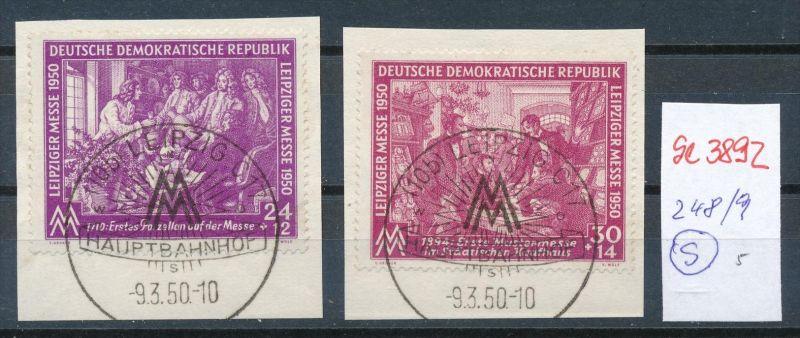 DDR Nr.  248-9  o   ( se3892  ) siehe scan 0