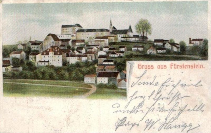 Fürstenstein - alte Karte  .. ( k9394) siehe scan 0