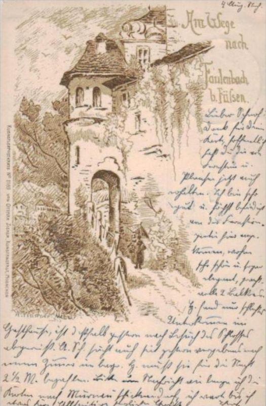 Faulenbach.. - alte Karte  .. ( k9420) siehe scan 0